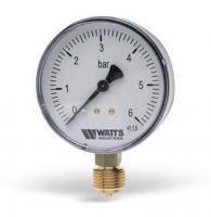 Манометр радиальный Watts F+R200 (Ø63mm 0-6Bar)