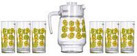 Набор кувшин и 6 стаканов Luminarc Meline L2419