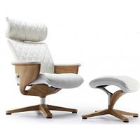 Кресло-реклайнер Nuvem Lux кожаное, фото 1