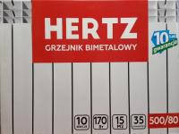 Hertz 500/80 - 10 секций