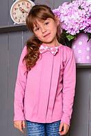 Нарядная трикотажная блузка для девочки.