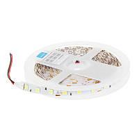 Светодиодная лента, 14.4Вт/60LED/м, свет холодный белый, IP23 Wolta 13773475