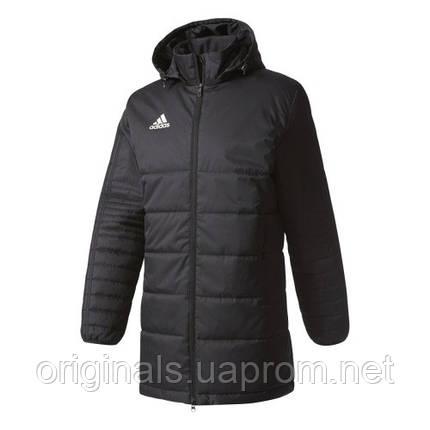 Куртка спортивная длинная для мужчин Adidas Tiro 17 Winter JKTL BS0050,  фото 2 ecbec92cfad