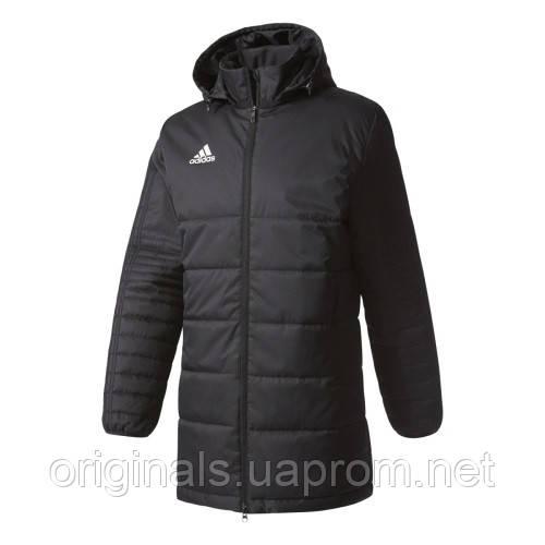 b007a80c40eb Куртка спортивная длинная для мужчин Adidas Tiro 17 Winter JKTL BS0050 -  интернет-магазин Originals