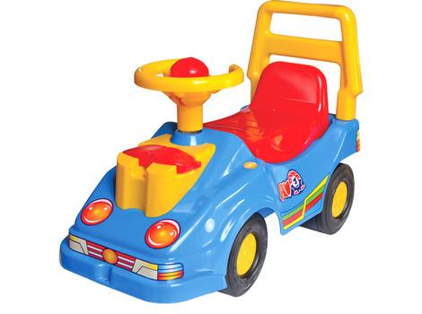 Детский автомобиль толокар Экомобиль