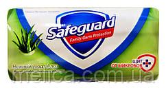 Мыло с антибактериальным эффектом Safeguard Нежный уход с Алоэ - 90 г.