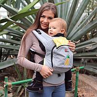 Эрго рюкзак Love & Carry AIR — Сладкий ананас бесплатная доставка новой почтой