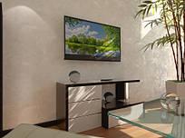 Тумба TV-line 12 126х60һх35 МДФ венге
