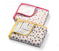 Двусторонее фланелевое одеяло BabyOno 75х100см 0м+