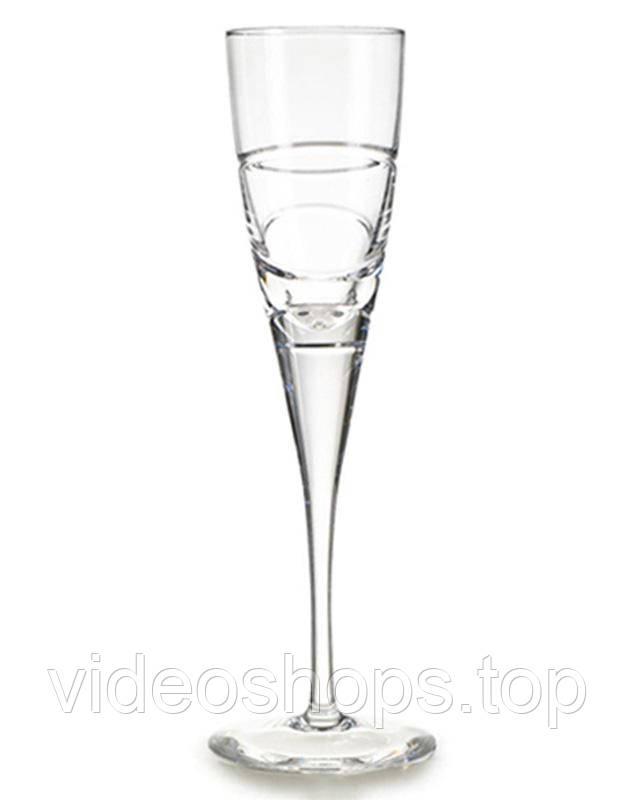 Набор 4 хрустальных фужера Atlantis Crystal ELICA 145мл для шампанского