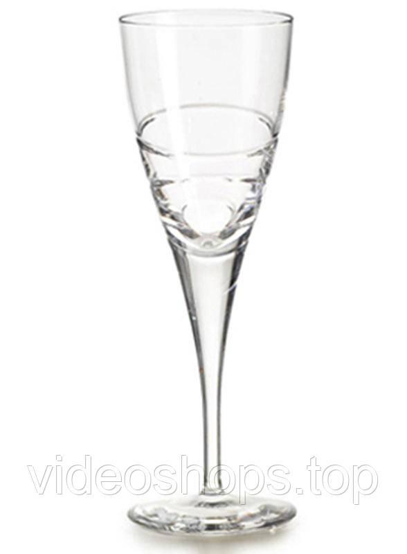 Набор 4 хрустальных бокала Atlantis Crystal ELICA 155мл для белого вина
