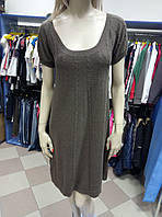 Платье коричневое теплое MNG