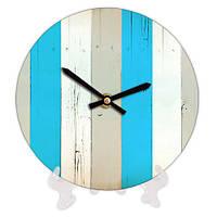 Декоративные часы с принтом Дерево 18 см