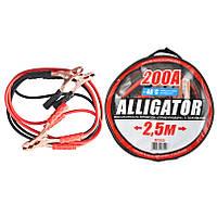 Провода прикуривания CarLife Alligator 200А 2.5м BC622, фото 1