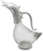 Графин Goose с декором из мельхиора 940мл
