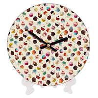 Декоративные часы для дома Сладости 18 см