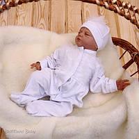 """Набор для новорожденных """"Ангелина""""  белый"""