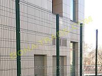 Забор с полимерным покрытием