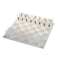 Шахматы стеклянные стаканные GB086L