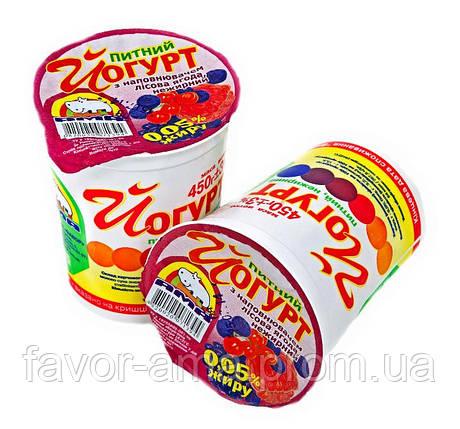 Йогурт питьевой нежирный АМА лесная ягода 0,05%, фото 2
