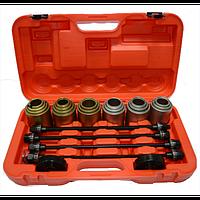 Универсальный набор для снятия установки сайлентблоков 34-72мм 4091 JTC