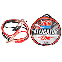 Провода прикуривания CarLife Alligator 300А 2.5м BC632, фото 1