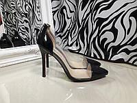 Туфли копия Christian Louboutin черные