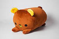 """Валик """"Мишка Юппи"""", коричневый."""