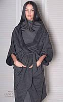 Кардиган женский, темно-серое, мультисезон T-PERSIA 1-1