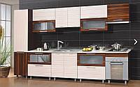 "Кухня ""Наоми Нова"" Длина 3.0м, Цена без столешницы, под заказ другой размер."