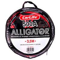 Провода прикуривания CarLife Alligator 500А 3.5м BC652, фото 1