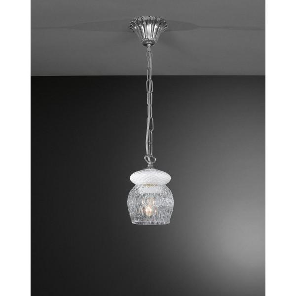 Люстра LA LAMPADA L 1208/1.02 WHITE