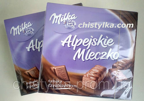 """Шоколадные конфеты """" Milka"""" 330 г"""
