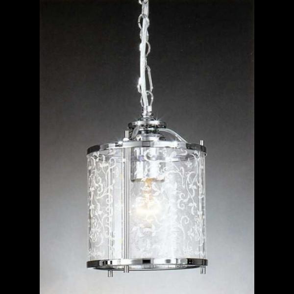 Люстра підвісна LA LAMPADA L 116/1.02 GRANIGLIA GLASS