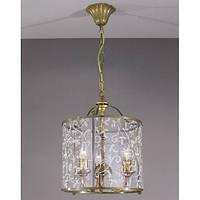 Люстра подвесная LA LAMPADA L 116/3.40 GRANIGLIA GLASS
