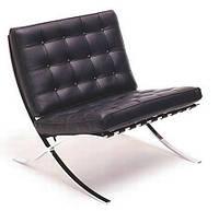 Кресло Барселона экокожа черная (СДМ мебель-ТМ)