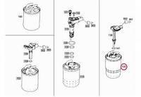 MERCEDES 6420920101 Фильтр топливный MB Sprinter 2.2-3.0CDI (+отв. датчика воды) (DODGE)