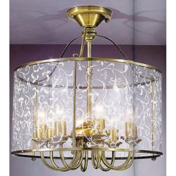 Потолочный светильник LA LAMPADA PL 116/8.40 GRANIGLIA GLASS
