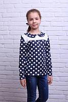 Красивая кофта-блуза для девочки Милана 259
