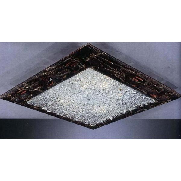 Светильник потолочный LA LAMPADA PL 151/GG.26 WALNUT