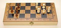 Шахматы, шашки, нарды, 3 в 1 дерево, артикул I5-50