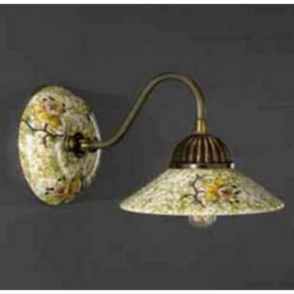 Бра LA LAMPADA WB 3112/1.40 VERDE
