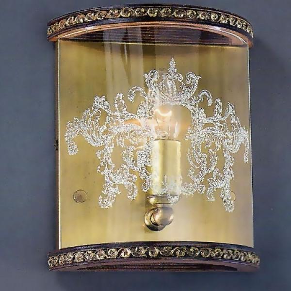Бра LA LAMPADA  WB 3861/1.40 NOCE BRONZE