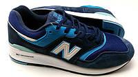 Кроссовки New Balance 997  синие мужские