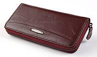 Женский кожаный кошелек клатч на молнии ТAILIAN натуральная кожа, фото 1