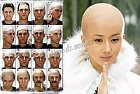 Лысина накладная искусственная, накладка лысая голова
