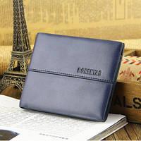 Мужской кожаный кошелек портмоне BorenYas , фото 1