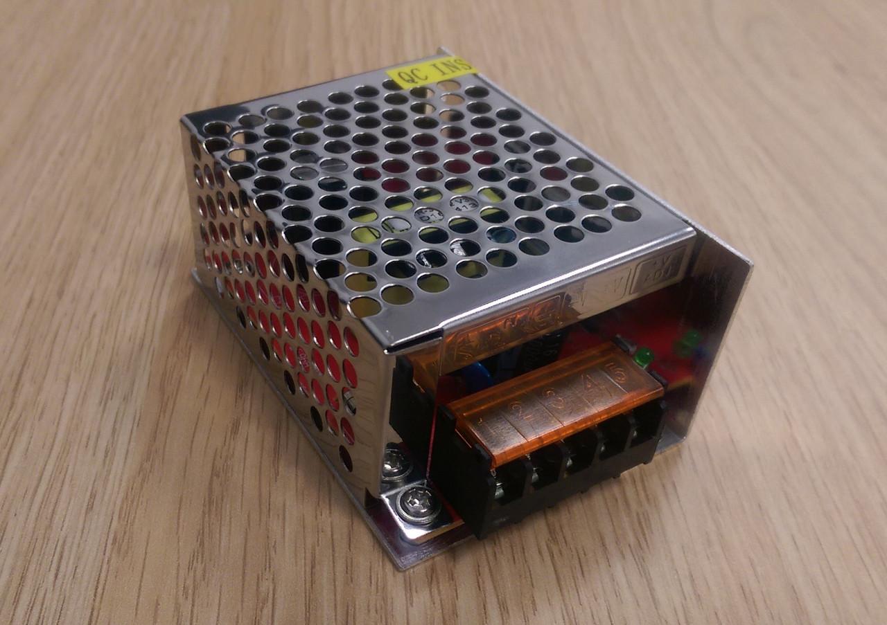 Блок питания перфорированный 12V 3А 36W для led ленты