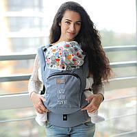 Эрго рюкзак Love & Carry AIR — МОМЕНТЫ СЧАСТЬЯ бесплатная доставка новой почтой, фото 1