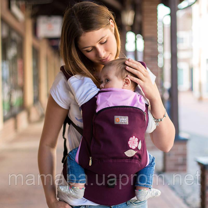 Эрго рюкзак Love & Carry AIR — МУДРЫЕ ПТИЧКИ бесплатная доставка новой почтой